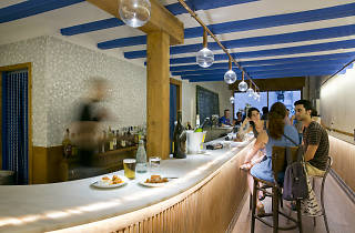 Raspall bar