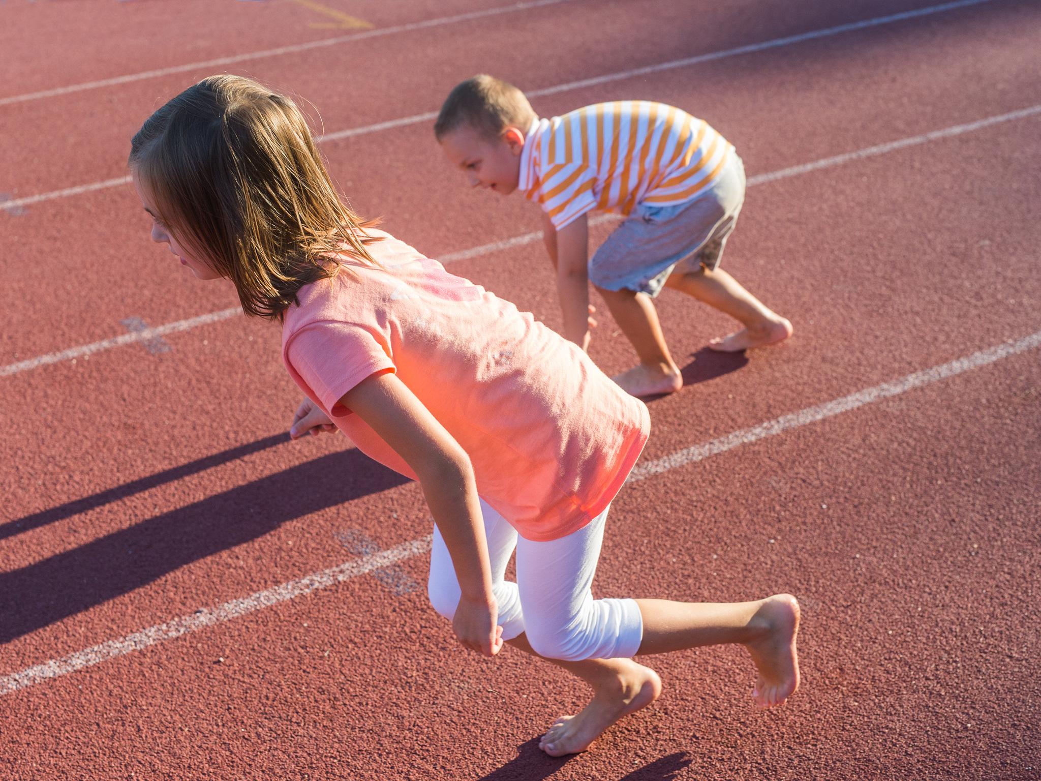Atletismo para niños en Mixuca