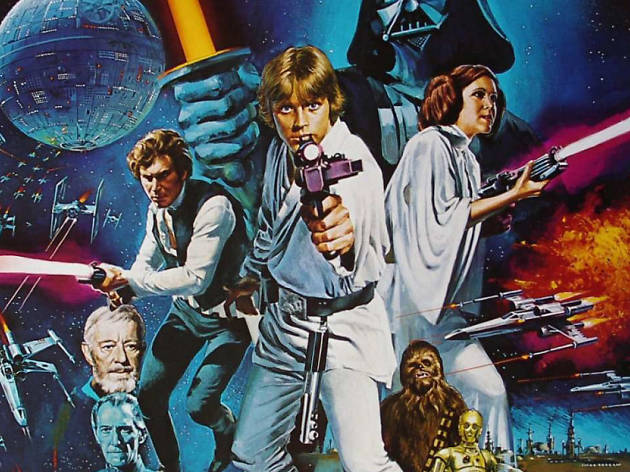 best movie posters, Star Wars: Episode IV - A New Hope