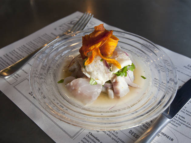 100 best restaurants in london, ceviche soho