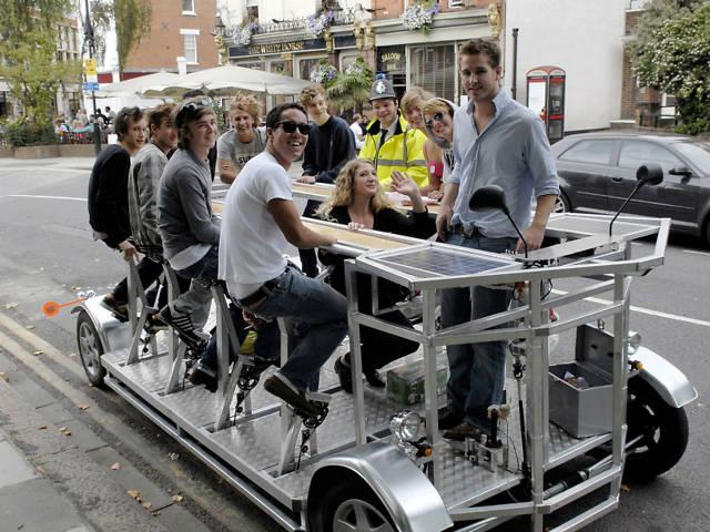 Stag do ideas: pedicab
