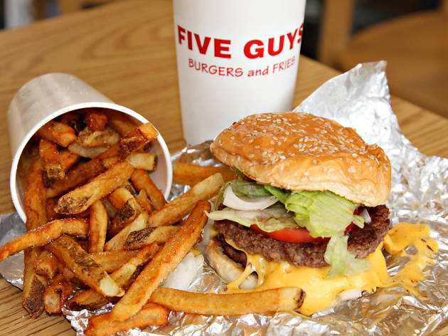 Everything on the Five Guys menu, ranked worst to best