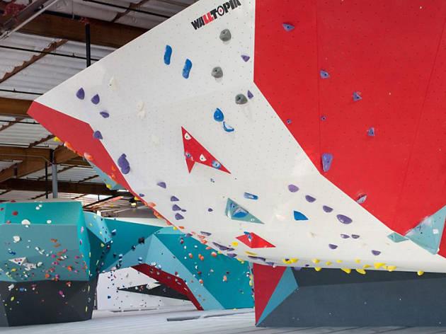 L A Rock Climbing Gyms Cliffs Of Id