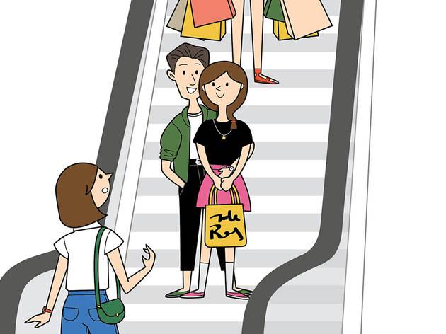 The five types of escalator wildlife in KL