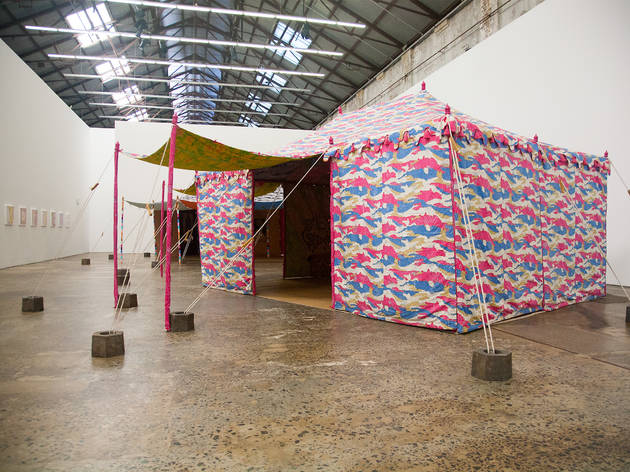 Francesco Clemente: Encampment