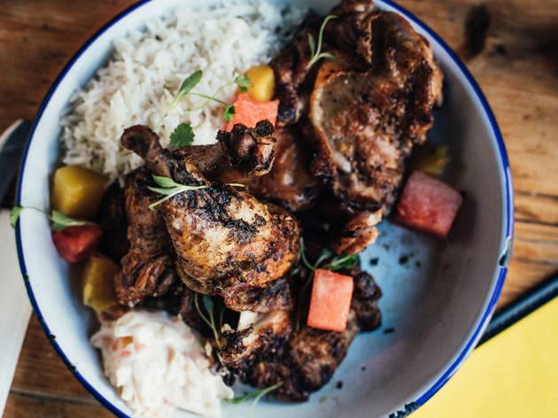 best jerk chicken in London, Rum Kitchen