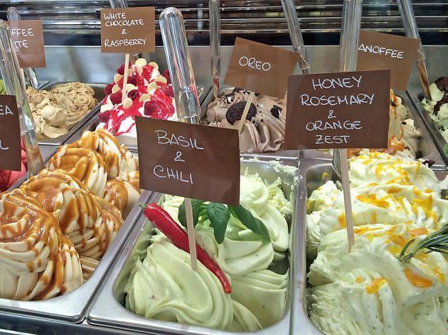 best ice cream in london, la gelatiera