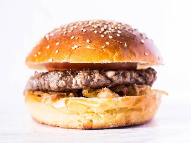 Hambúrguer em brioche