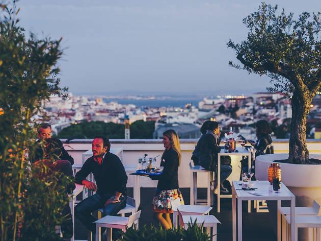 Os melhores terraços em Lisboa