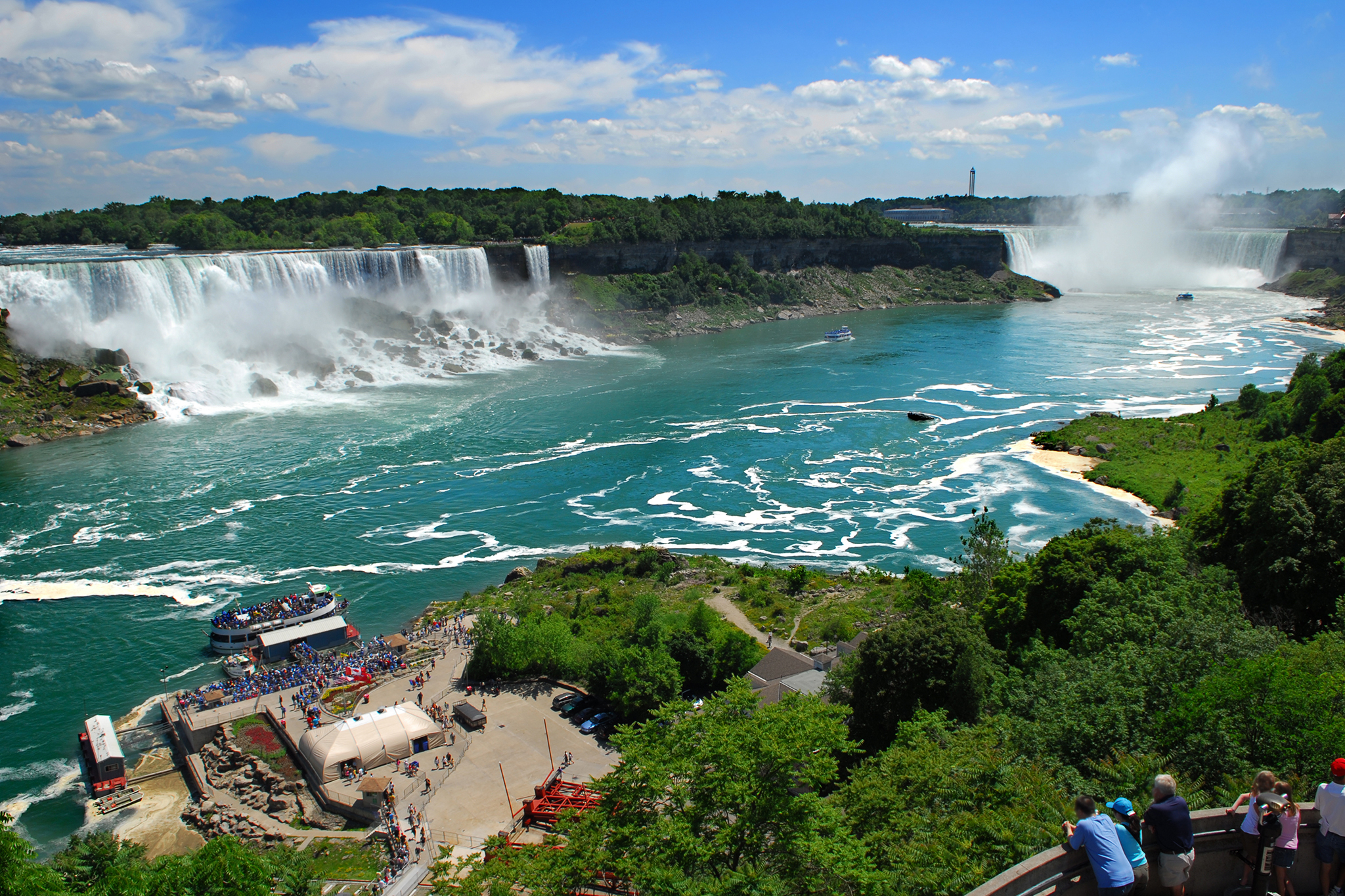 The best places to visit in New York State: Niagra Falls