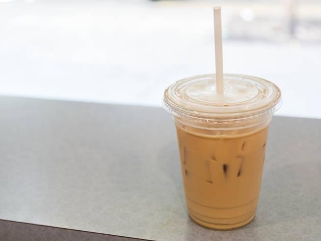 Cafe con leche at Cafecito