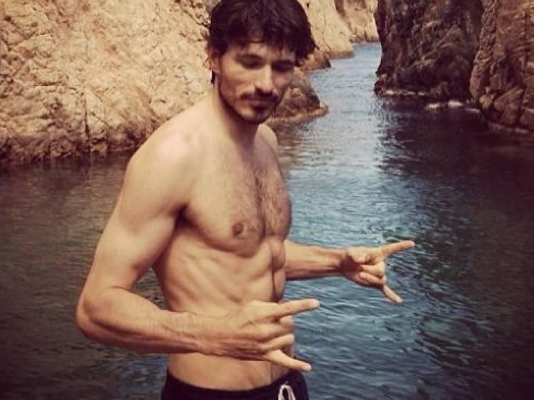 Andrés Velencoso, top model