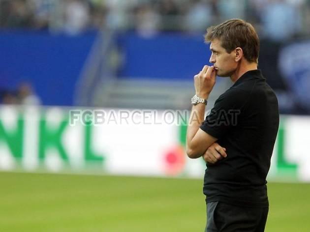 Tito Vilanova, entrenador del Barça