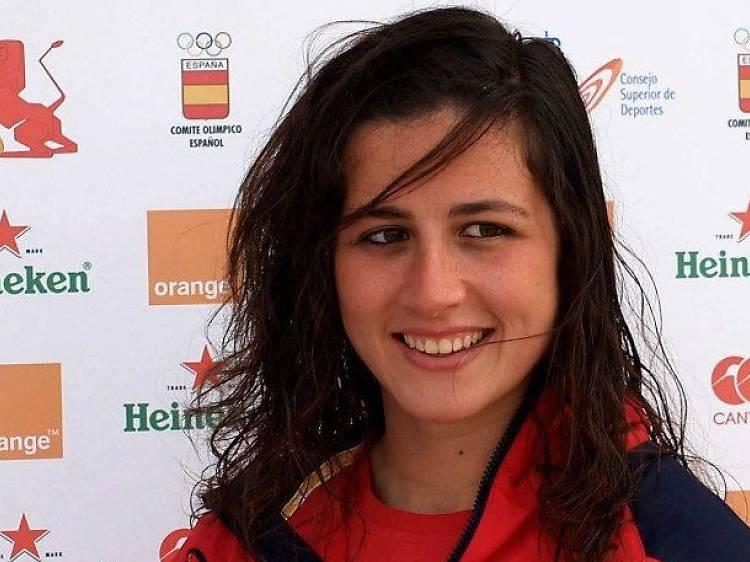Eli Martínez, capitana de la selecció olímpica de rugby 7