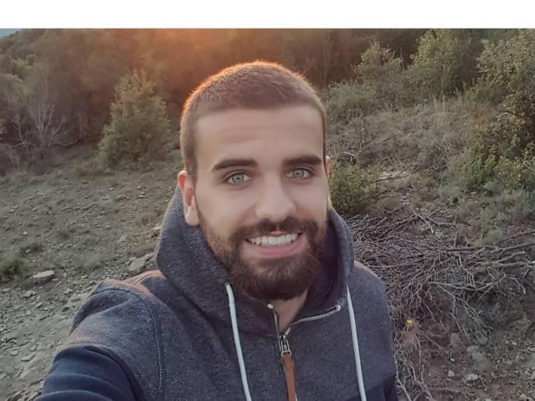 Carles Mas, central del Girona FC