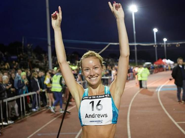 Jess Andrews, corredora olímpica