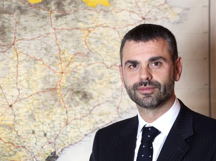Santi Vila, exalcalde de Figueres i conseller de Cultura