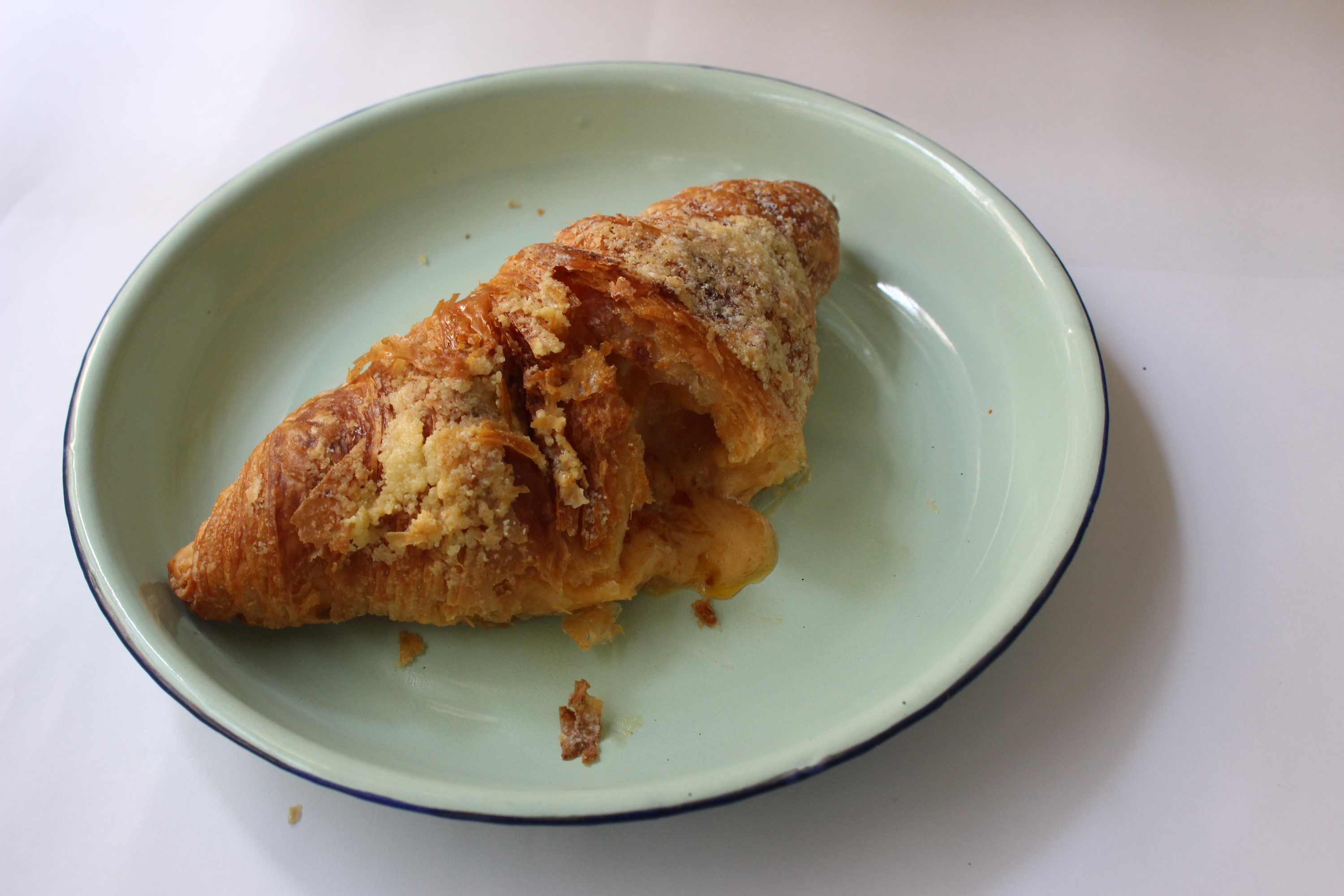 Salted egg croissants at Le Bread Days