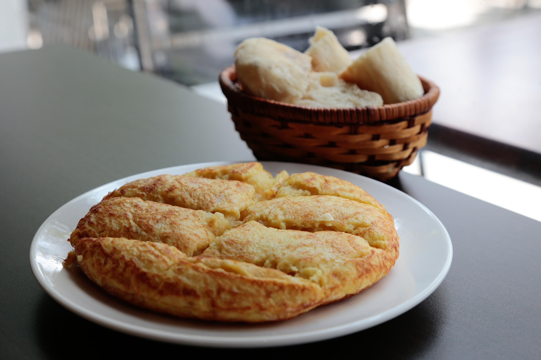 Tortilla de patatas at Marta's Kitchen