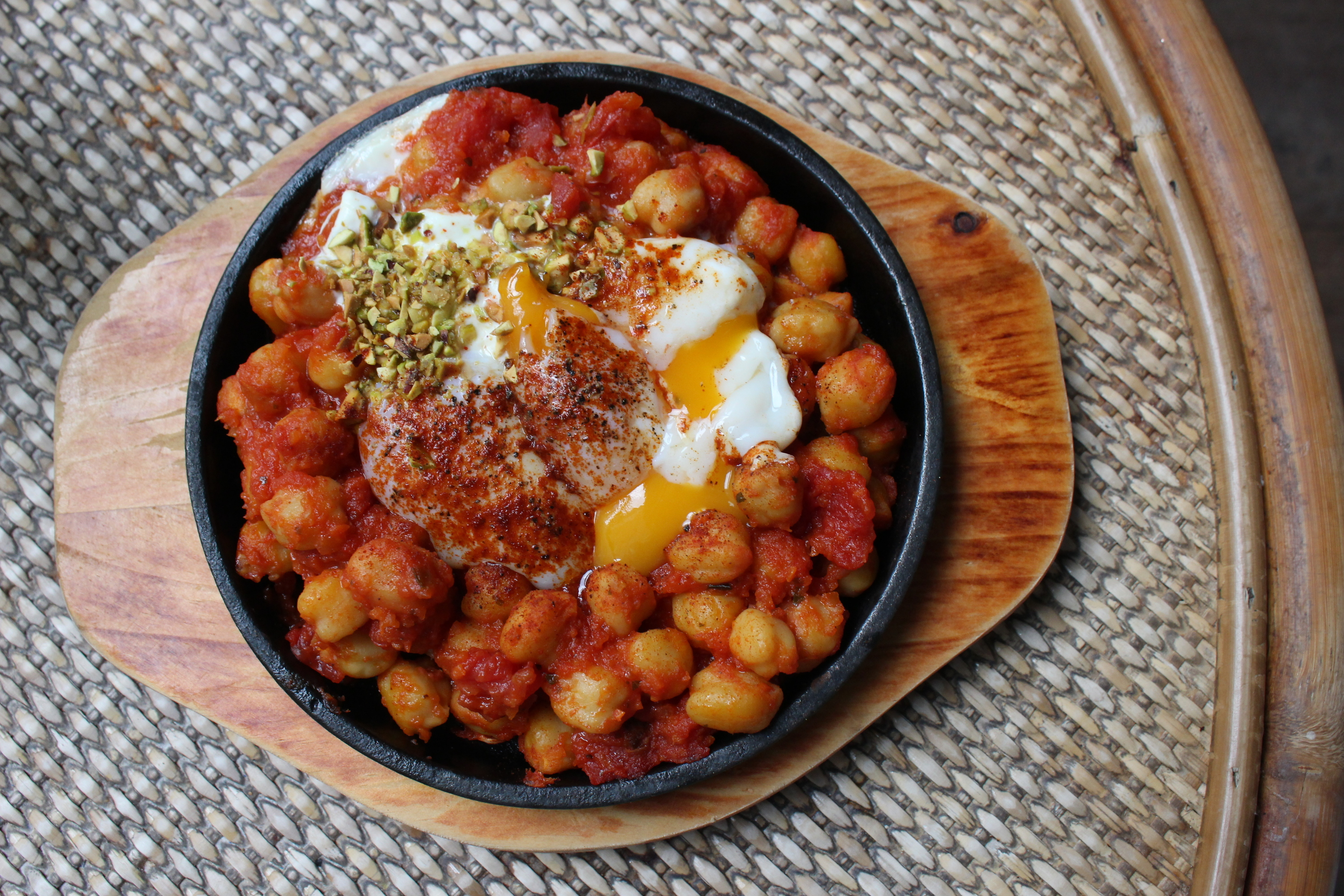 Turkish-style eggs at VCR