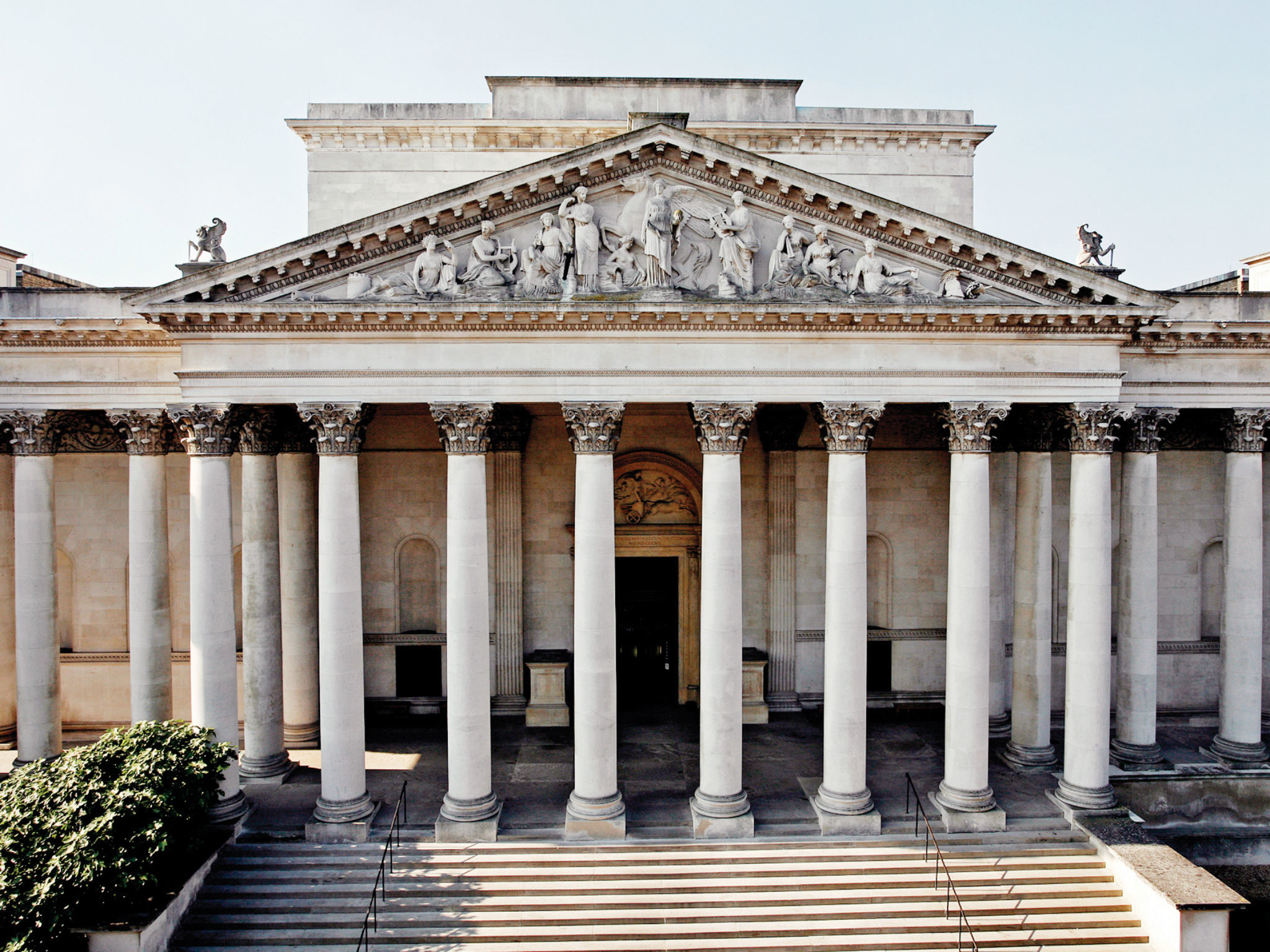 The Fitzwilliam Museum in Cambridge