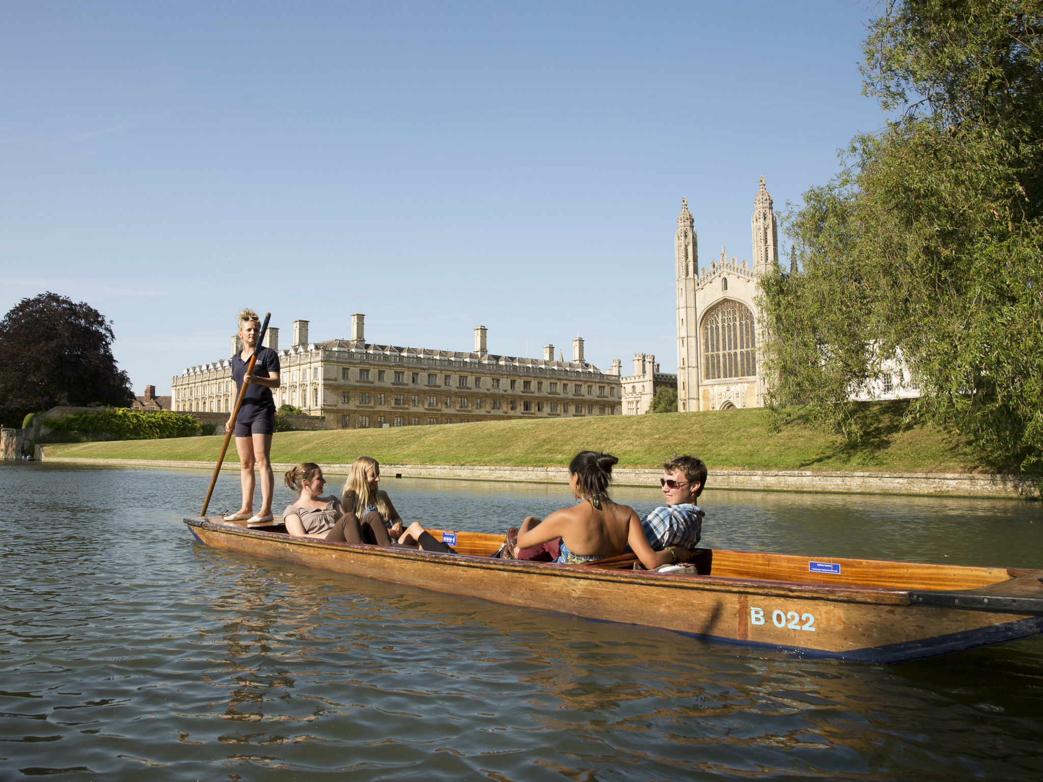punting, cambridge