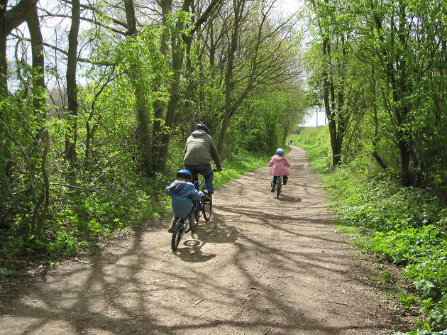 nickey line, family cycling