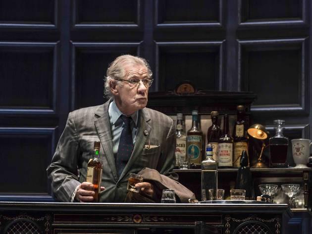 Ian McKellen as Spooner (©Johan Persson)