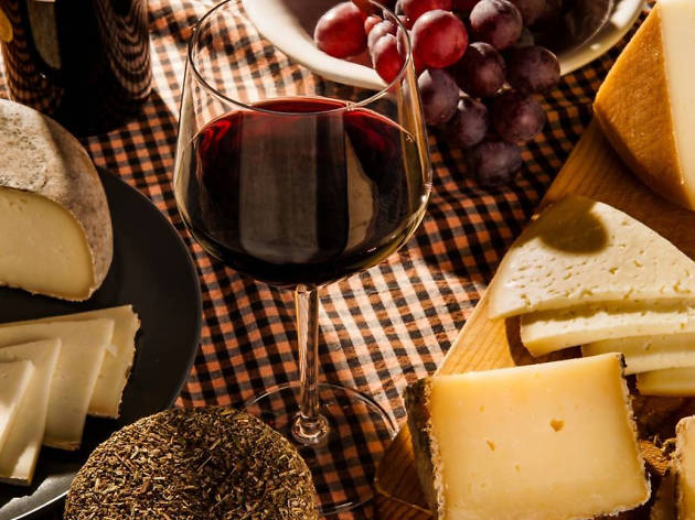 Fruita i formatge, un bon binomi