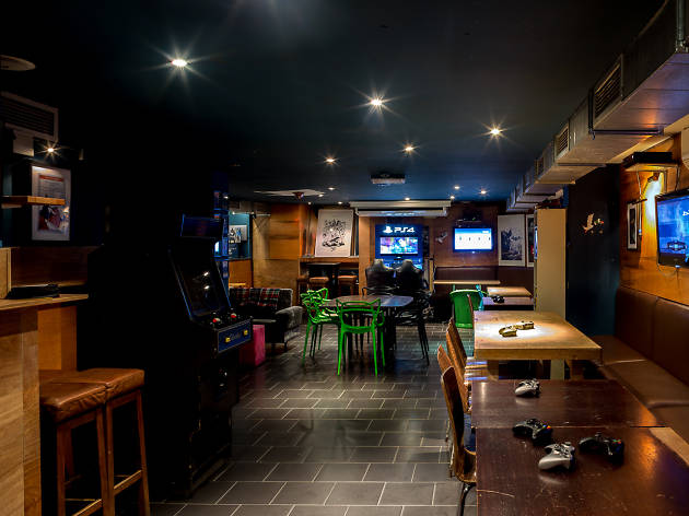Scenario gaming bar Dalston