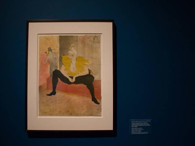 Toulouse Lautrec en Bellas Artes