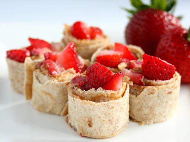 Strawberry Sushi
