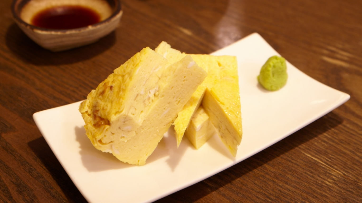 Tamagoyaki at Ichiro Sushi Bar