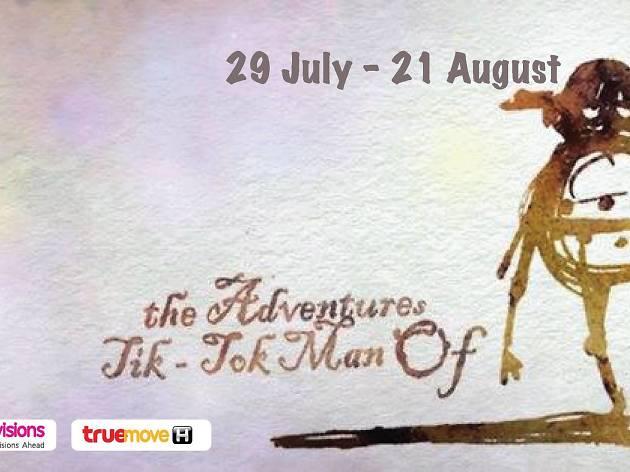 The Adventures of Tik-Tok, Man on Oz
