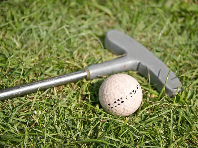Stag do ideas: park golf, mini golf