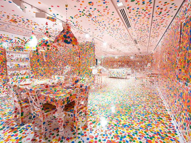 There's an entire Infinity Mirror Room exhibition coming to the Broad