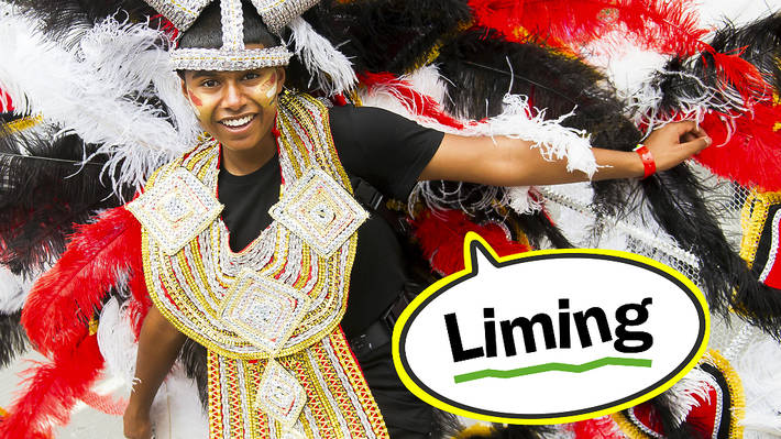 Carnival lingo: liming