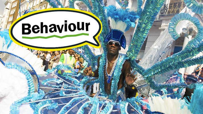 Carnival lingo: behaviour