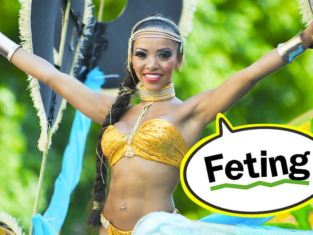 Carnival lingo: feting