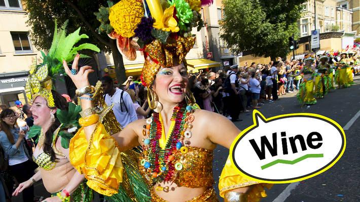 Carnival lingo: wine