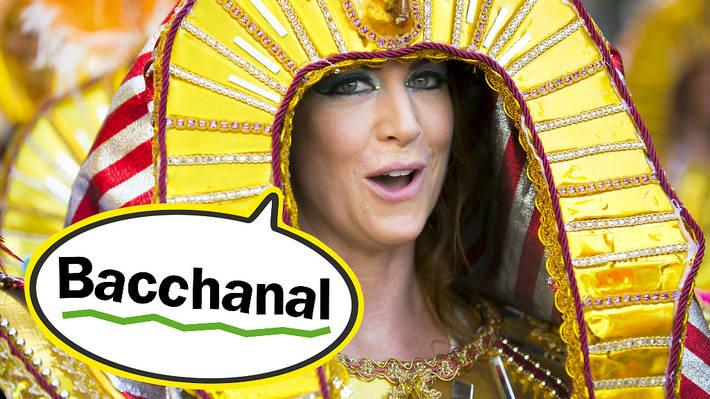 Carnival lingo: bacchanal