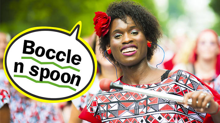 Carnival lingo: boccle n spoon