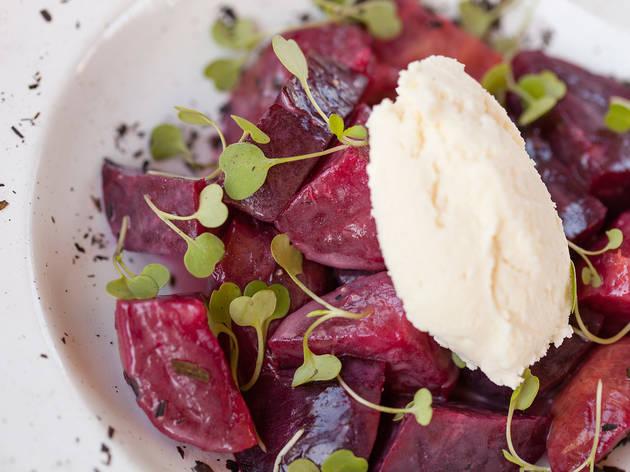 Beet salad at Salazar