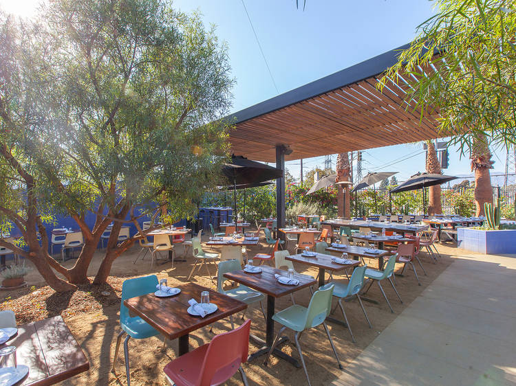 The best outdoor dining in L.A.