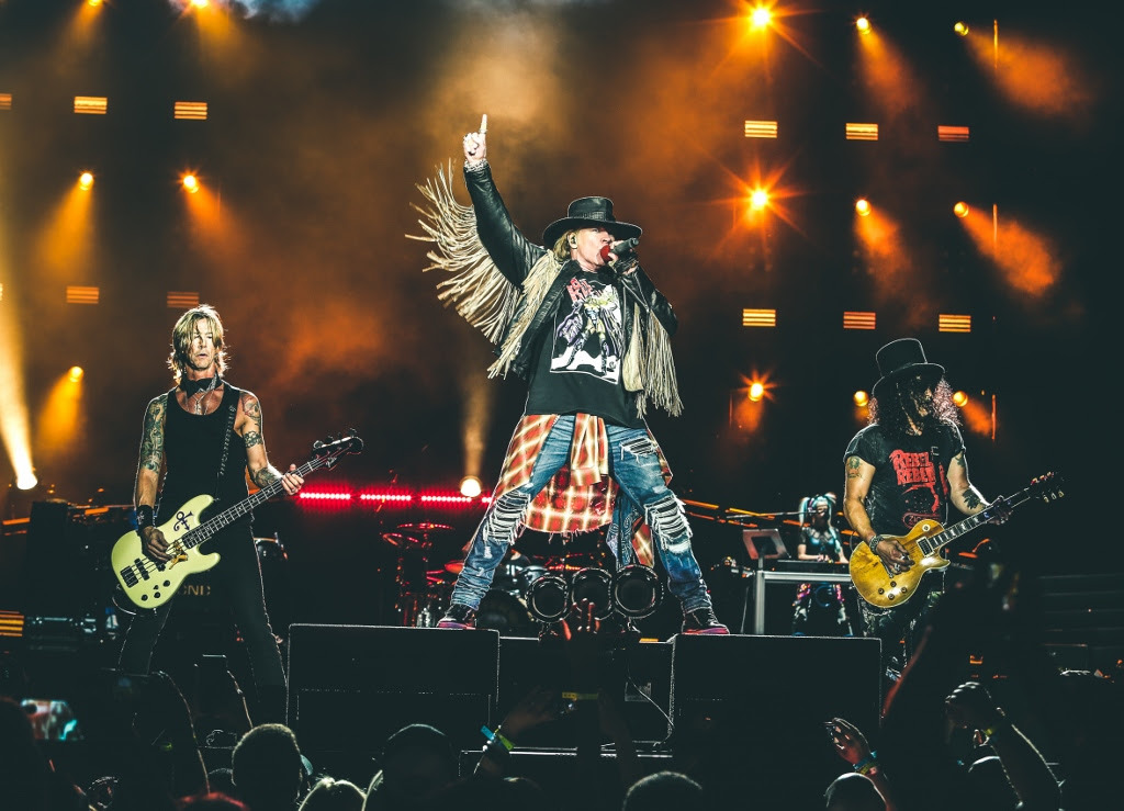 Guns N' Roses to perform at the MCG