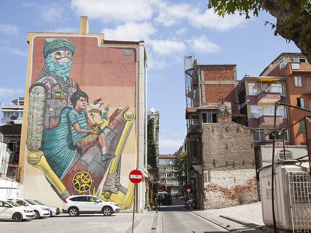 Mural İstanbul 2012, Pixel Pancho