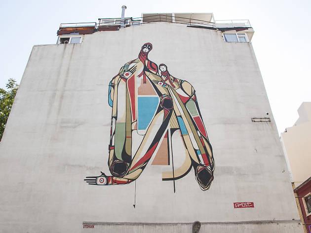 Mural İstanbul 2012, Amose