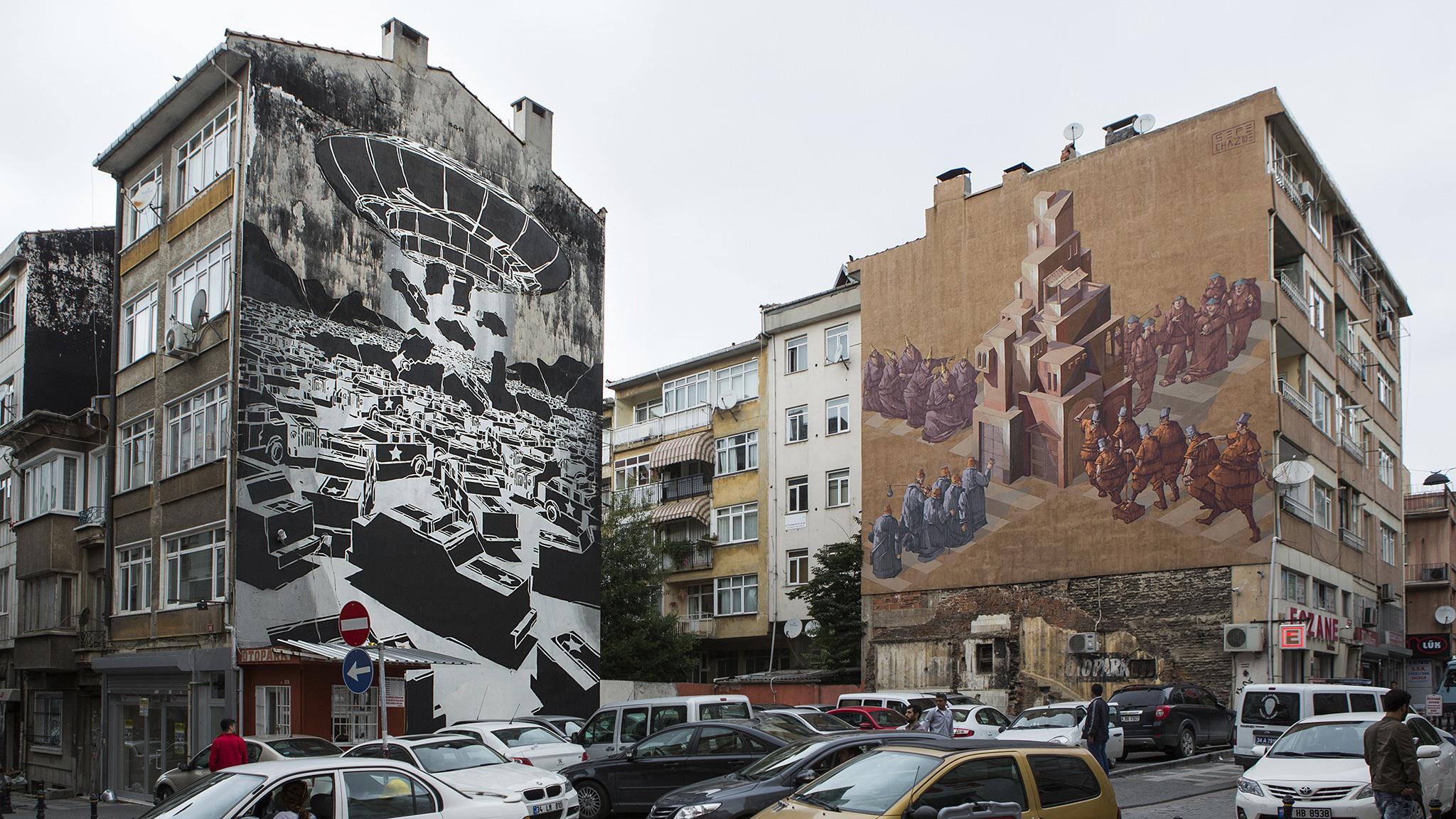 Sepe & Chazme 718, Mural
