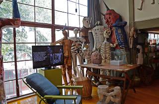Diego Rivera y Kurt Stavenhagen. Coleccionistas de arte prehispánico