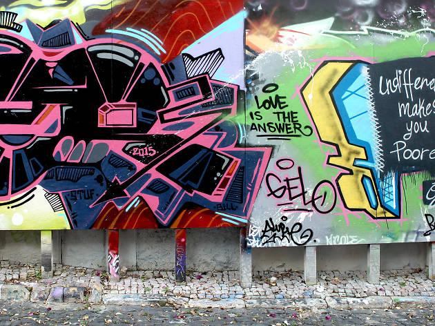 Galeria de Arte Urbana, Largo do Oliveirinha